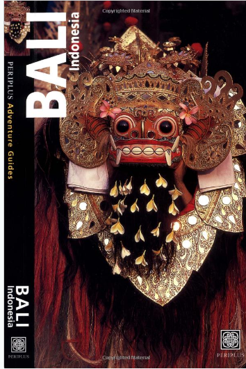 Bali Guide book cover